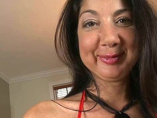 Alluring mam i'd like to fuck sweetheart is savouring a over-long male rod