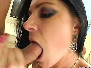 India Summer lives alone and has had a crush on the security guard that works in her apartment complex. That Hottie gives a decision to lure him to the abode asking him if that guy could assist her with her security system. This of course was a bold face lie, but it did the trick. This Guy comes over and fiddles around with the key pad when all of a sudden this babe comes down stars wearing no thing but her pants. The guard can't aid him self be enticed by her and raunchy madness ensues. They fucked all over the living room and this babe pretty soon finds out that that guy likewise has had a crush on her for some time and even masturbated in the guard booth a pair times. This one is for the books. Have A Fun!