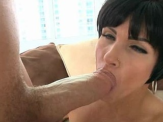 Beauty can't live without to get her loving holes stuffed by big penis