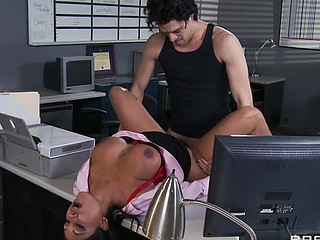 Priya and Xander are one as well as the other fighting for the same position at Glubbert Financial. The One And The Other are equally qualified, equally ambitious and thus, equally abhor each other as result. In a battle of wits, billibongs and dicks the two proceed to fuck each others brains out all over the office in order to settle the score, one time and for all. Who will consent out triumphant?